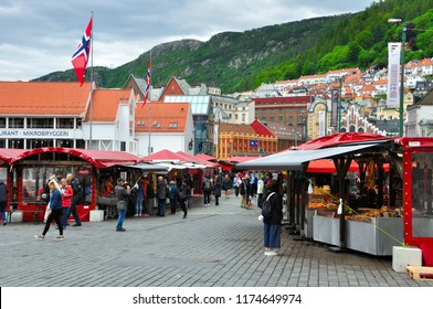 BERGEN ,NORWAY-JUNE 7