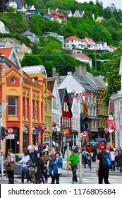 BERGEN,NORWAY-JUNE, 6, 2017 conference of the life call of the Norwegian city of bergen in Norwegian