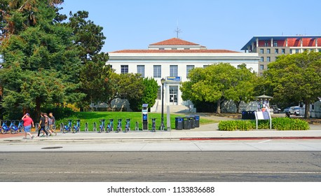BERKELEY, CA -1 SEP 2017- View of the campus of the University of California, Berkeley. It is often ranked as the best public university in the United States.