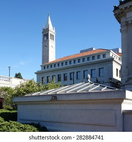 BERKELEY, CA -4 OCTOBER 2014- Built in 1914, the Sather Tower, known as The Campanile, is the most famous landmark on the campus of the University of California, Berkeley.
