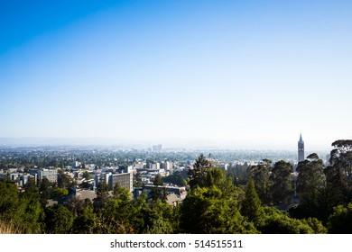 BERKELEY, CALIFORNIA - CIRCA JULY 2015: Berkeley, California is the home of the University of California at Berkeley.