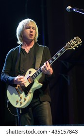 Berkeley, CA/USA - 6/2/2016 : Kenny Wayne Shepherd performs with The Rides at The UC Theatre in Berkeley, CA.