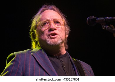 Berkeley, CA/USA - 6/2/2016 : Stephen Stills performs with The Rides at The UC Theatre in Berkeley, CA.