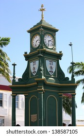 The Berkeley Memorial Clock in St. Kitts, West Indies