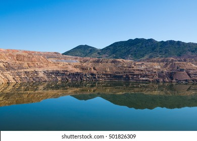 The Berkeley Pit is a former open pit copper mine located in Butte, Montana, United States.