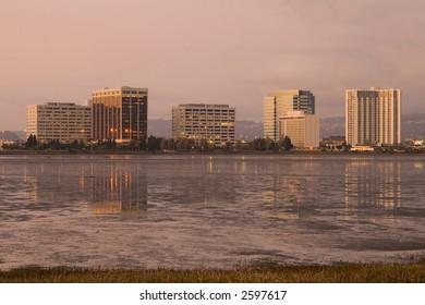 Berkeley at sunset