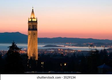 Berkeley University Sather Tower, California