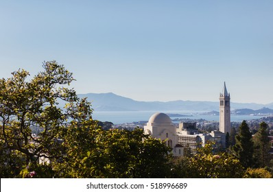 BERKELEY,California, USA - Oct. 26, 2016 : View of Berkeley and Sather Tower.
