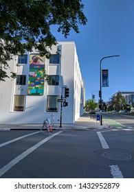 Berkerley, CA/USA - 04 14 2019: UC Berkeley Campus