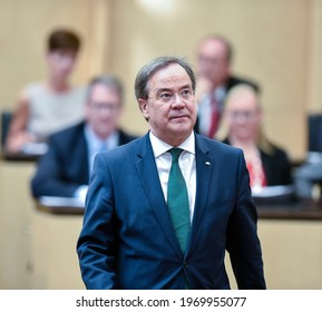 Berlin, 2019-06-07: Armin Laschet pictured at a meeting in Berlin