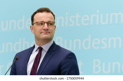 Berlin, 2020-06-05:  The German Minister for Health, Jens Spahn answers questions at the press conference