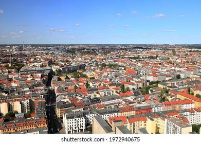 Berlin - aerial view. Germany, Europe.