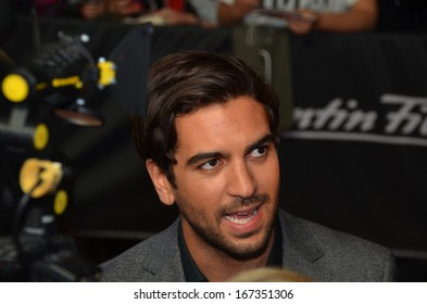 BERLIN - AUG 20: Elyas M'Barek at the 'The Mortal Instruments: City of Bones' premiere at Sony Center on August 20, 2013 in Berlin, Germany