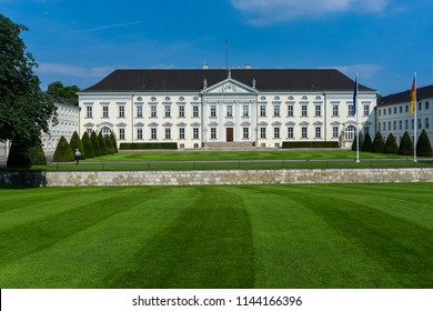 Berlin Castle Bellvue is the residence of the Federal President