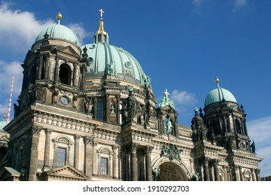 Berlin Cathedral or Berliner Dom in Berlin, Germany in Europe.