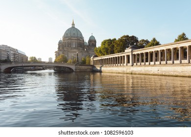 Berlin Cathedral during summer