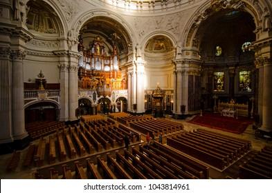 Berlin cathedral interior