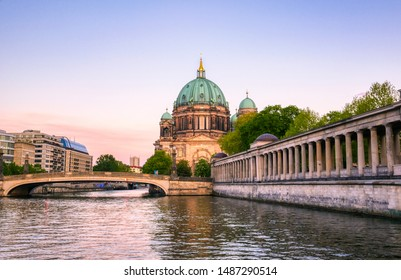 Berlin Cathedral located on Museum Island in the Mitte borough of Berlin, Germany.