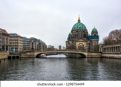 Berlin Cathedral on Museum island in the German capital