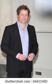 BERLIN - DEC 4: Hugh Grant at the photocall to promote his film 'Did You Hear About the Morgans?' at Hotel de Rome. December 4, 2009 in Berlin