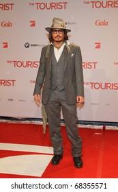 BERLIN - DECEMBER 14: Johnny Depp attends the 'The Tourist' European premiere at CineStar on December 14, 2010 in Berlin, Germany.