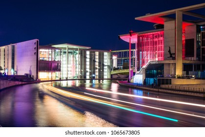 Berlin Downtown by night