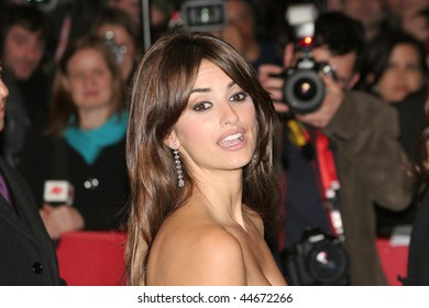 BERLIN - FEBRUARY 10: Penelope Cruz attends the 'Elegy' Premiere as part of the 58th Berlinale Film Festival at the Berlinale Palast on February 10, 2008 in Berlin, Germany