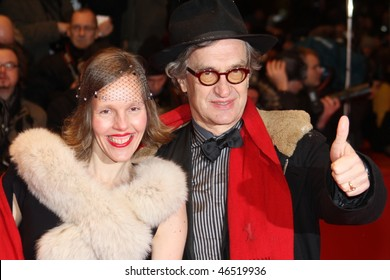 BERLIN - FEBRUARY 11: Donata Wenders and  Wim Wenders attend the 'Tuan Yuan'  Premiere during day one of the 60th Berlin  Film Festival at the Berlinale Palast on February 11, 2010 in Berlin, Germany.