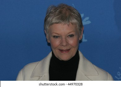 BERLIN - FEBRUARY 12: Actress Judi Dench attends the photocall to promote the movie 'Notes On A Scandal' during the 57th Berlin International Film Festival  on February 12, 2007 in Berlin, Germany