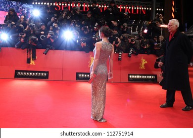 BERLIN - FEBRUARY 17: Christina Ricci attends the 'Bel Ami' Premiere at the 62nd Berlinale at the Berlinale Palast on February 17, 2012 in Berlin, Germany.