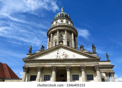Berlin French cathedral church on Gendarmenmarkt square in Berlin, Germany