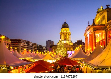 Berlin, Gendarmenmarkt, Christmas Market