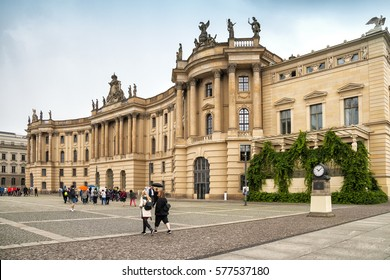 BERLIN, GERMANY - 17 SEPTEMBER 2016: Berlin State Library