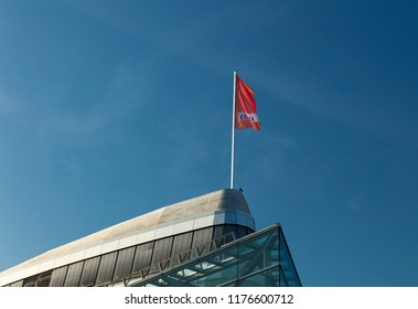 Berlin, Germany, 21st August 2018, Konrad-Adenauer-Haus - headquarters of the CDU