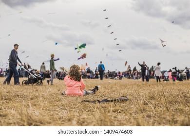 Berlin, Germany - 22.09.2018 - Kite Festival