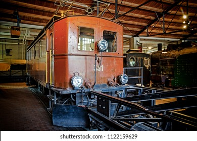 BERLIN, GERMANY - 23 Jun 2018: Deutsches Technikmuseum with a large collection of historical technical artifacts