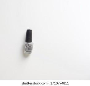 Berlin, Germany 4/22/2020 Fancy Opi glitter nail polish