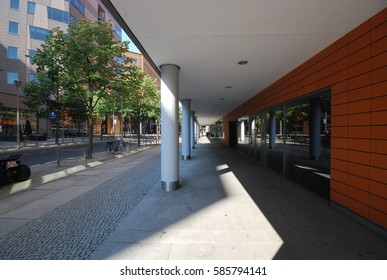 Berlin, Germany - Alte Potsdamer Strasse - September 2015