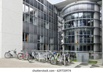 Berlin, Germany - April 12, 2017: Paul Lobe house exterior in Berlin.