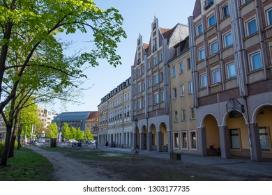 Berlin Germany - April 21. 2018: Old buildings in the city center of Berlin