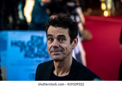BERLIN - GERMANY - April 24: Tom Tykwer at the Europe premiere from A Hologram for the King at Zoo Palast on April 24, 2015 in Berlin, Germany