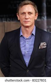 BERLIN, GERMANY - AUGUST 08: Daniel Craig attends the 'Cowboys & Aliens' premiere in Cinestar on August 8, 2011 in Berlin, Germany.