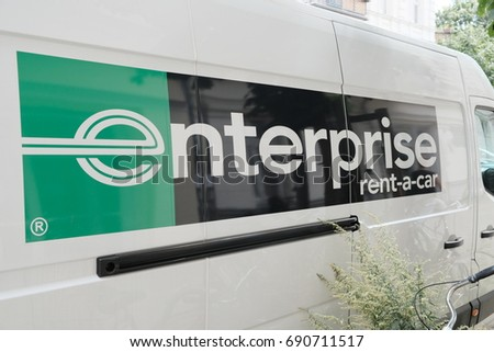 d652fb5ead Berlin Germany August 4 2017 Enterprise Stock Photo (Edit Now ...