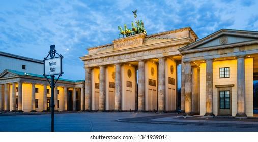 Berlin Germany Brandenburg Gate 2018