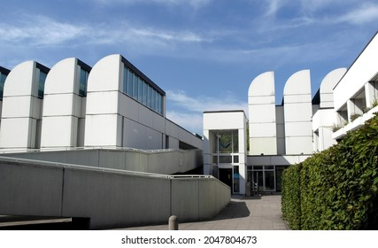 BERLIN, GERMANY - CIRCA AUGUST 2009: The Bauhaus Archiv meaning Bauhaus Archive