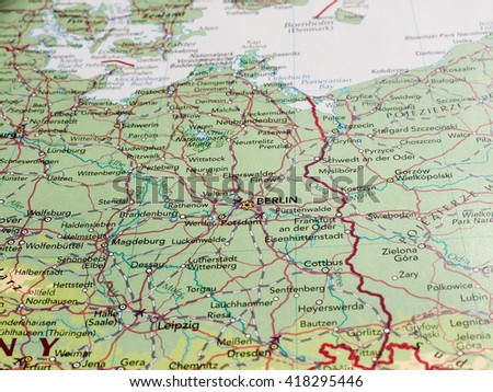 BERLIN GERMANY CIRCA MAY 2016 Detail Stock Photo (Edit Now ... on