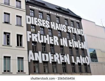 Berlin, Germany, December 2017: Berlin architecture