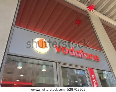 5e41a404d6 Berlin Germany December 3 2016 Vodafone Stock Photo (Edit Now ...