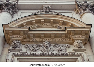BERLIN, GERMANY - DECEMBER 6, 2015: Arch of Berlin Cathedral (Berliner Dom)