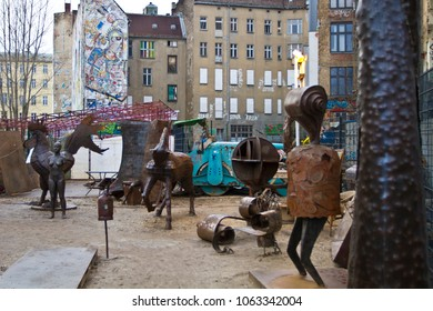 Berlin, Germany - Feb 24, 2012: Art House Tacheles